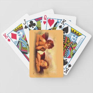 Original Copy of Raphael Cherubs, Angels Bicycle Playing Cards