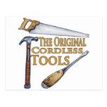 Original Cordless Tools Post Card