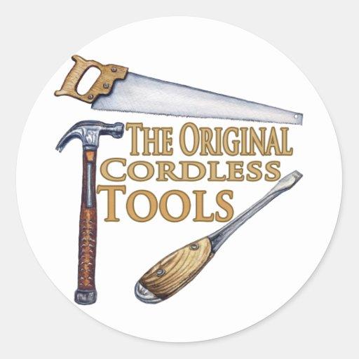 Original Cordless Tools Stickers