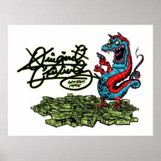 Original Criminalz Dragon 01 Poster
