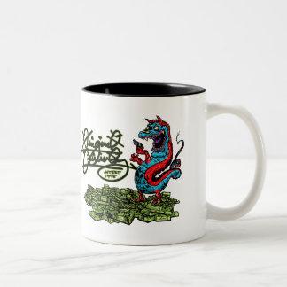 Original Criminalz Dragon Two-Tone Coffee Mug