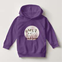 Original Cute Animal Cartoon Girl Friendship Hoodie