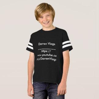 ORIGINAL Darren Vlogs T-shirt Large Boys