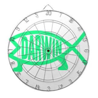 Original Darwin Fish (Seafoam) Dartboards