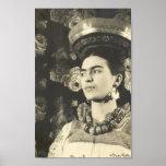 Original de Charola de la estafa de Frida Kahlo Póster