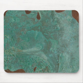 Original de cobre           del verdete del alfombrilla de ratones