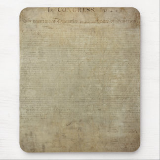 Original Declaration of Independence Mouse Pad