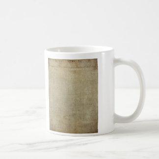 Original Declaration of Independence Mug
