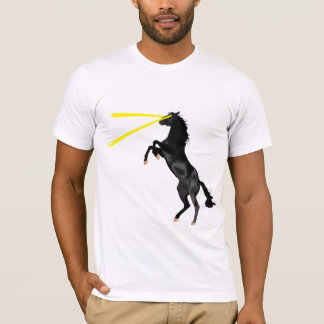 Original del caballo del laser playera