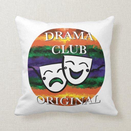 Original del club del drama: Coloree su mundo Cojin