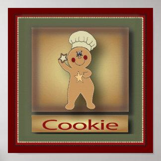 Original del hombre de pan de jengibre el   de la póster