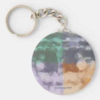 Original Design - dpmartdesign 2009 Basic Round Button Keychain
