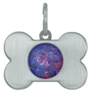 Original Design from Acrylic Painting Pet ID Tag