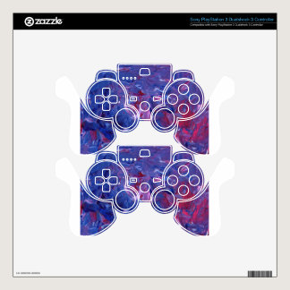 Original Design from Acrylic Painting PS3 Controller Decal