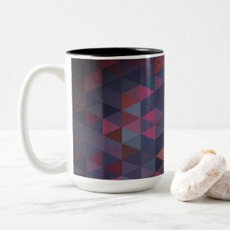 Original designers mug with triangles