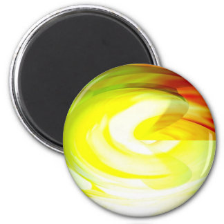 Original Digital Abstract Art Magnet