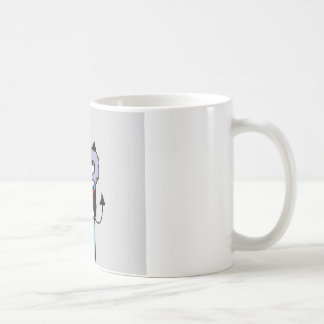 Original Drawing By Tasha- Good & Evil Coffee Mug