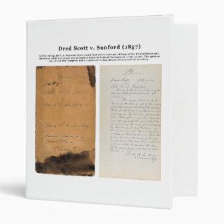 ORIGINAL Dred Scott v Sandford 1857 Binders