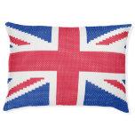 Original embroidery design Cross-stitch Union Jack Pet Bed