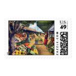 Original Farmer's Market, Hollywood, California Postage Stamp