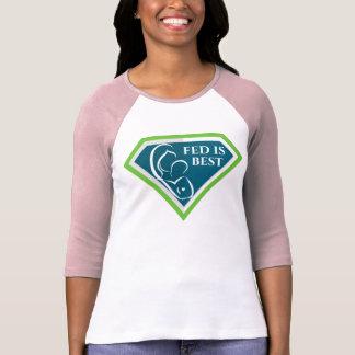Original Fed is Best Logo Raglan Shirt