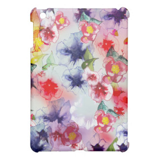 Original Floral Watercolor ipad mini case
