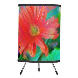Original Flower Art Tripod Lamp