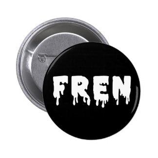 Original FREN Badge INVERSE Button