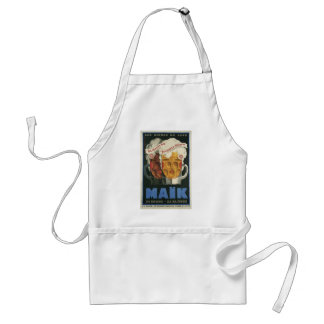 original French beer Art Deco Poster 1929 Adult Apron