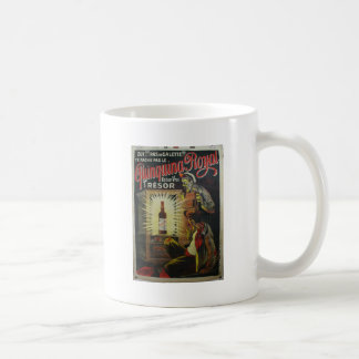 Original french wine based drink 1900s poster coffee mug