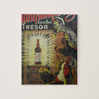 Original french wine based drink 1900s poster jigsaw puzzle
