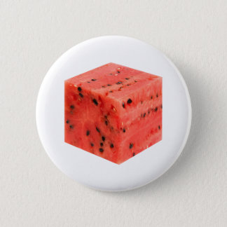 Original Fresh Sweet Red Watermelon Food Cube Button