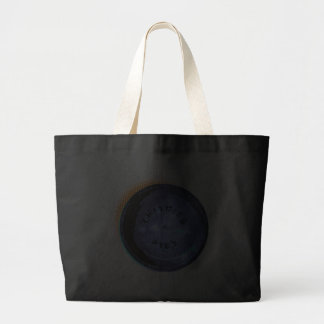 Original Frisbee Pie Tin Pop-Art Jumbo Tote Bag