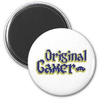 Original Gamer 2 Inch Round Magnet