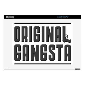 "Original Gangsta Decal For 15"" Laptop"
