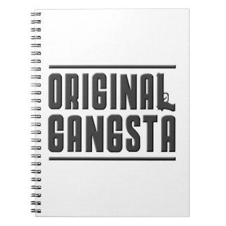 Original Gangsta Spiral Notebooks