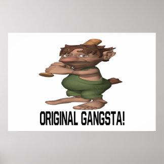Original Gangsta Posters