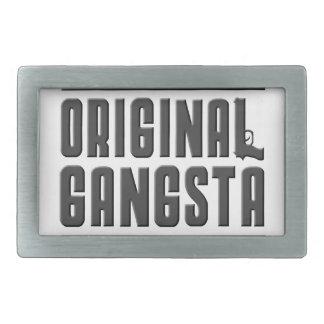 Original Gangsta Rectangular Belt Buckle