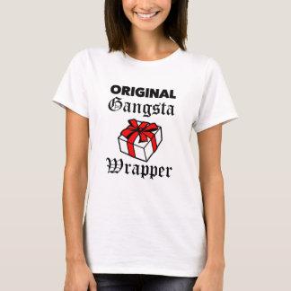 Original Gangsta Wrapper funny Christmas T-shirt