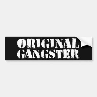 Original Gangster Bumper Sticker