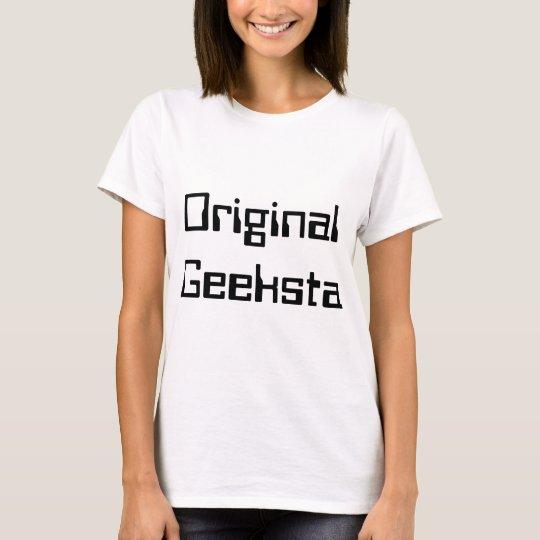 Original Geeksta Fitted Ladies Baby Doll T-Shirt