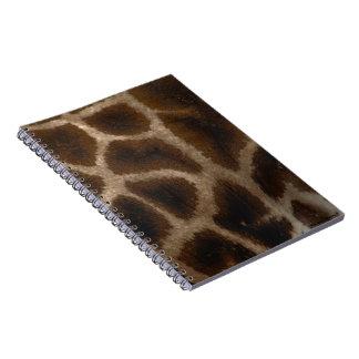 Original Giraffe notebook-Libreta jirafa Note Book