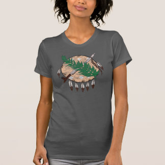 Original Girl Grunge Oklahoma State Flag T-Shirt