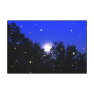 Original Glow Bug Photography Canvas Print