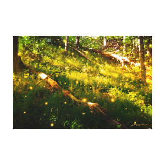 Original Glow Bug Photography Canvas Print