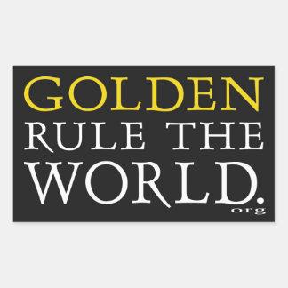 Original Golden Rule The Word Sticker Set of 4