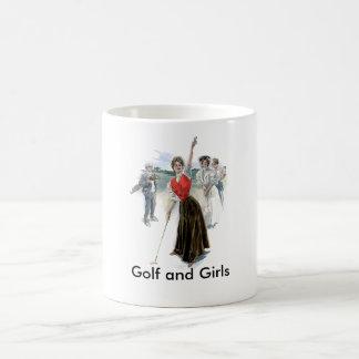 Original Golfing Girl Coffee Mug