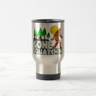 Original Gone Squatchin Design 15 Oz Stainless Steel Travel Mug