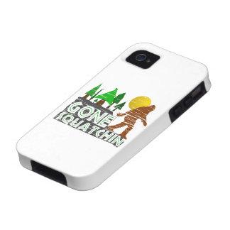Original Gone Squatchin Design iPhone 4 Covers