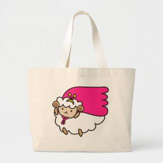 Original goods of me e ru large tote bag